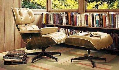 Eames Lounge & Ottoman