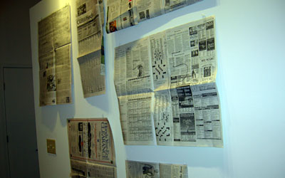 Newsprint layout